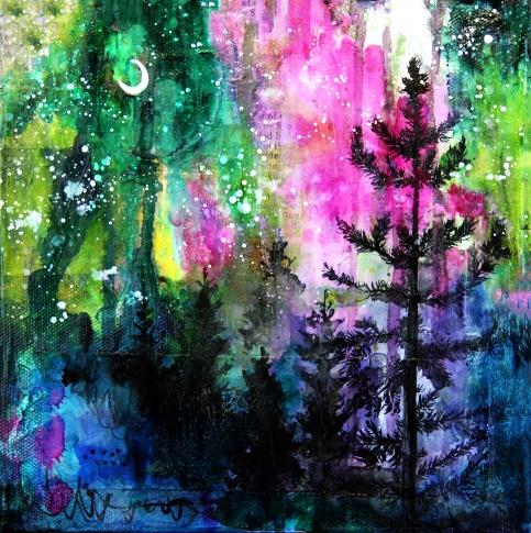 Singularity || Evening Trees